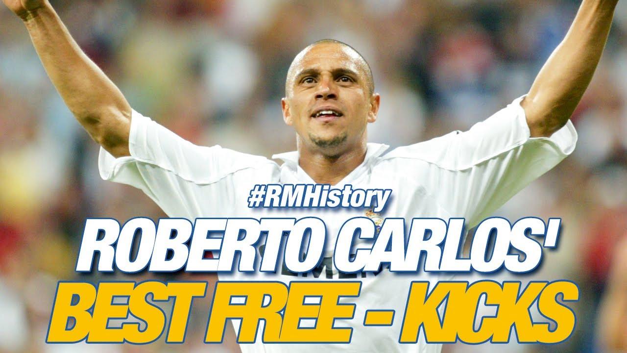 Download Real Madrid   Roberto Carlos' best free-kicks!