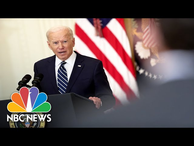 Biden Speaks Out On China Tensions | NBC News