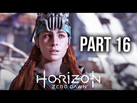 HORIZON ZERO DAWN Walkthrough Part 16 - THE GRAVE HOARD (PS4 Pro Gameplay Let's Play)