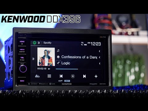 Kenwood eXcelon DDX396 6 2 Inch Double DIN Car Stereo Bluetooth Receiver