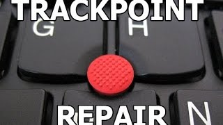 Laptop trackpoint cap repair pointing stick keyboard трекпоинт ремонт и замена