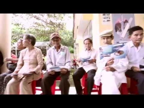 Community eye care in Ba Ria-Vung Tau province in Vietnam