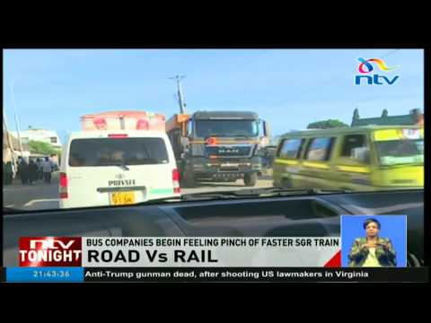 Mombasa-Nairobi route bus companies feel the effects of the SGR