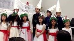 Elaine & Aaron Hsu        Aaron's School Performers 121313