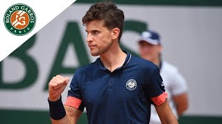 Dominic Thiem vs Stefanos Tsitsipas - Round 2 Highlights I Roland-Garros 2018