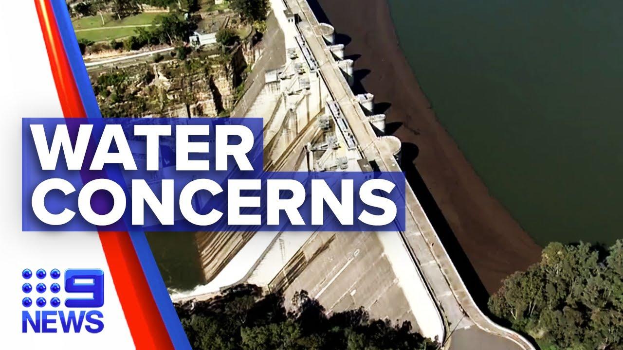 Water quality concerns amid Warragamba Dam reaching peak   9 News Australia
