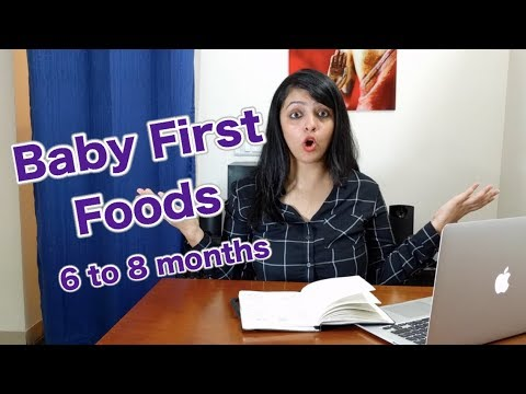 Beginning Solids and Baby's First Foods