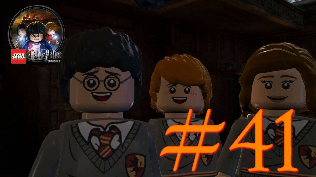 Lego Harry Potter 41 Roter Zauber Diffindo Youtube