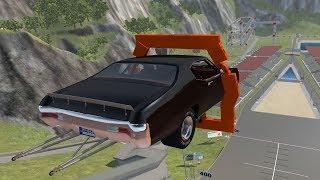 99.9% Impossible Stunts - BeamNG Drive Stunts & Crashes