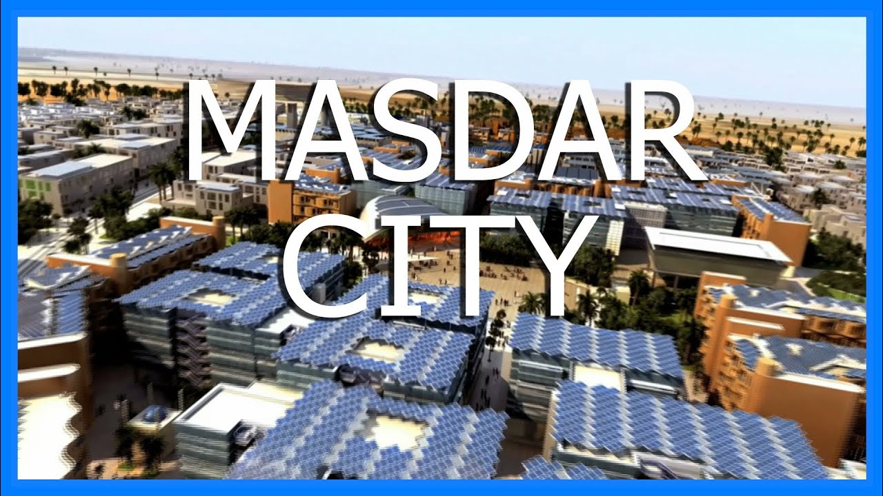 Masdar City In 60 Seconds Fully Charged Youtube