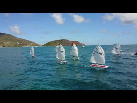 Youth Sailing - Optimists Sailing SE  Peninsula - St Kitts Yacht Club