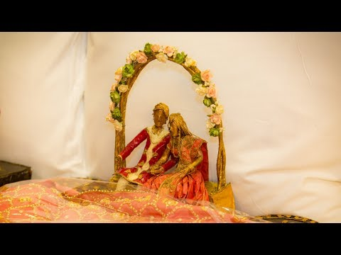 Wedding Gift Packing Ideas/  Unique and Beautiful Wedding Ideas/ Saree, Trousers, Skirt Packing Idea