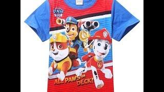 Щенячий Патруль толстовки и футболки для малбчиков