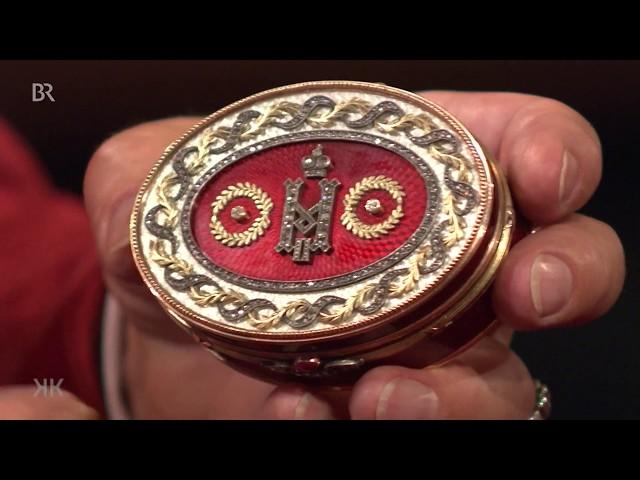 Petersburger Preziose: Fabergé-Dose (Kunst + Krempel)
