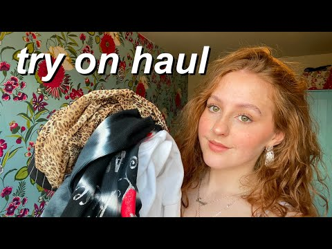 second hand try on haul (depop, vinted, birthday and christmas)