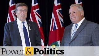 Ontario mayors sounds alarm on spending cuts | Power & Politics