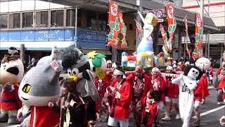 2014年4月5日・・岐阜市で開催の第42回道三まつり、長良橋通りで行わ...