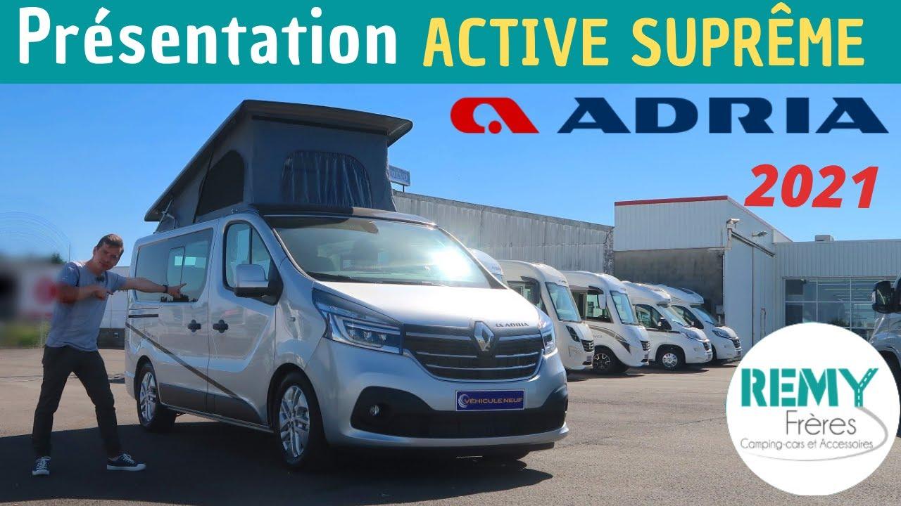 Le DERNIER DISPO ! Présentation du VAN ADRIA active SUPREME 2021 *Instant Camping-Car*