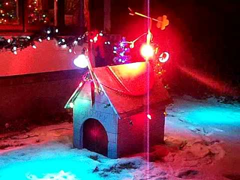 snoopys dog house at christmas youtube