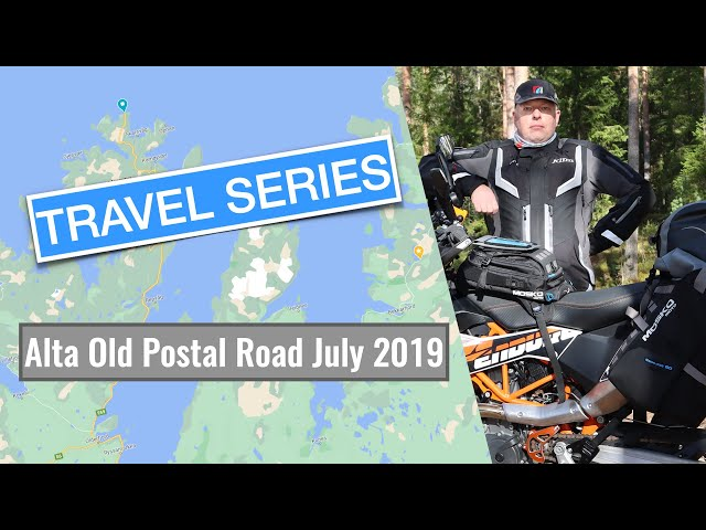 Small motorcycle adventure through the Alta Old Postal Road Norway with my KTM 690 Enduro R.