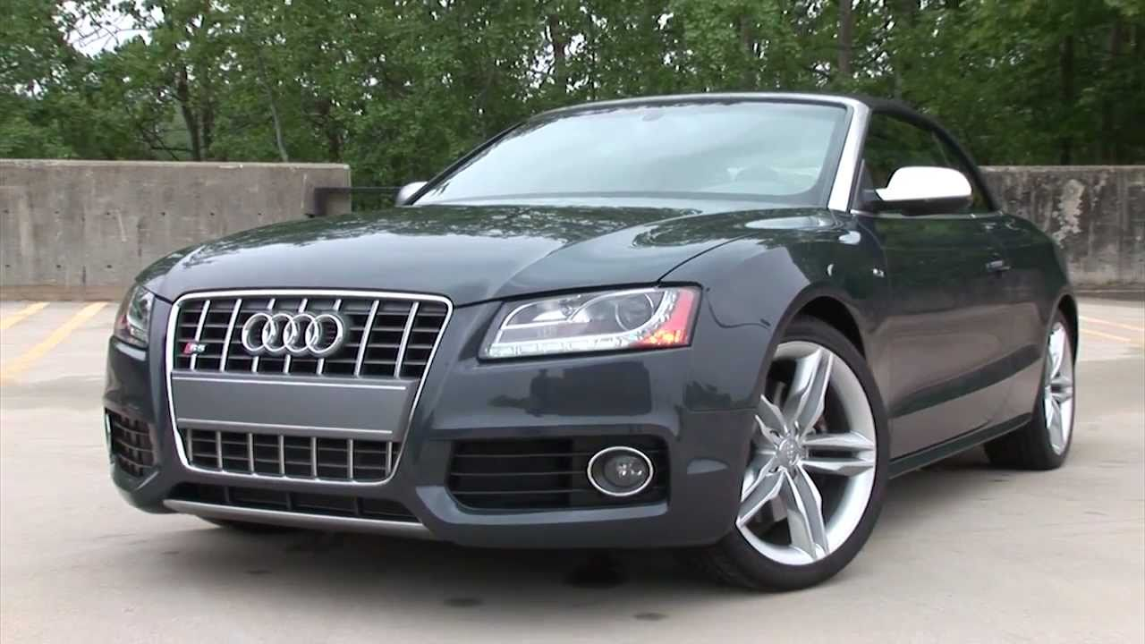 2011 Audi S5 Cabriolet - Drive Time Review | TestDriveNow - YouTube