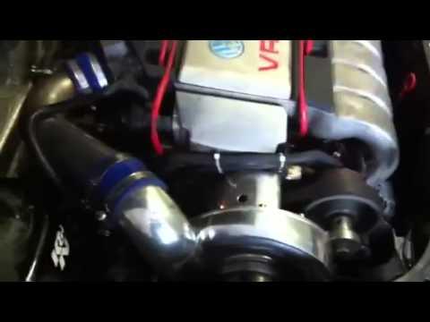 Golf 3 29 VR6 mit ZEngineering ZR2R Kompressor Turbo Vortech