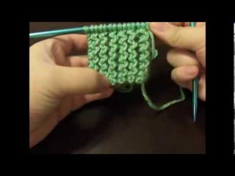 How To Knit The Rickrack Rib Stitch Flat