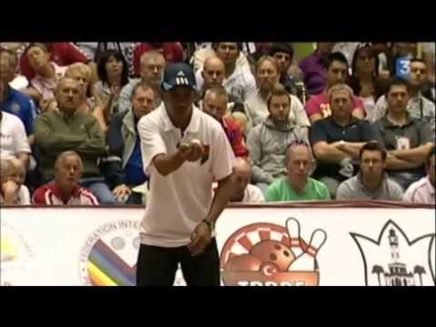 Finale (COMPLETE)  mondial PETANQUE 2010 Madagascar vs France