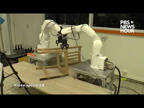 This autonomous robot can build an IKEA chair in less than 21 minutes