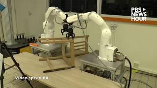 بالفيديو.. روبوتات تصنع الأثاث بسرعة فائقة