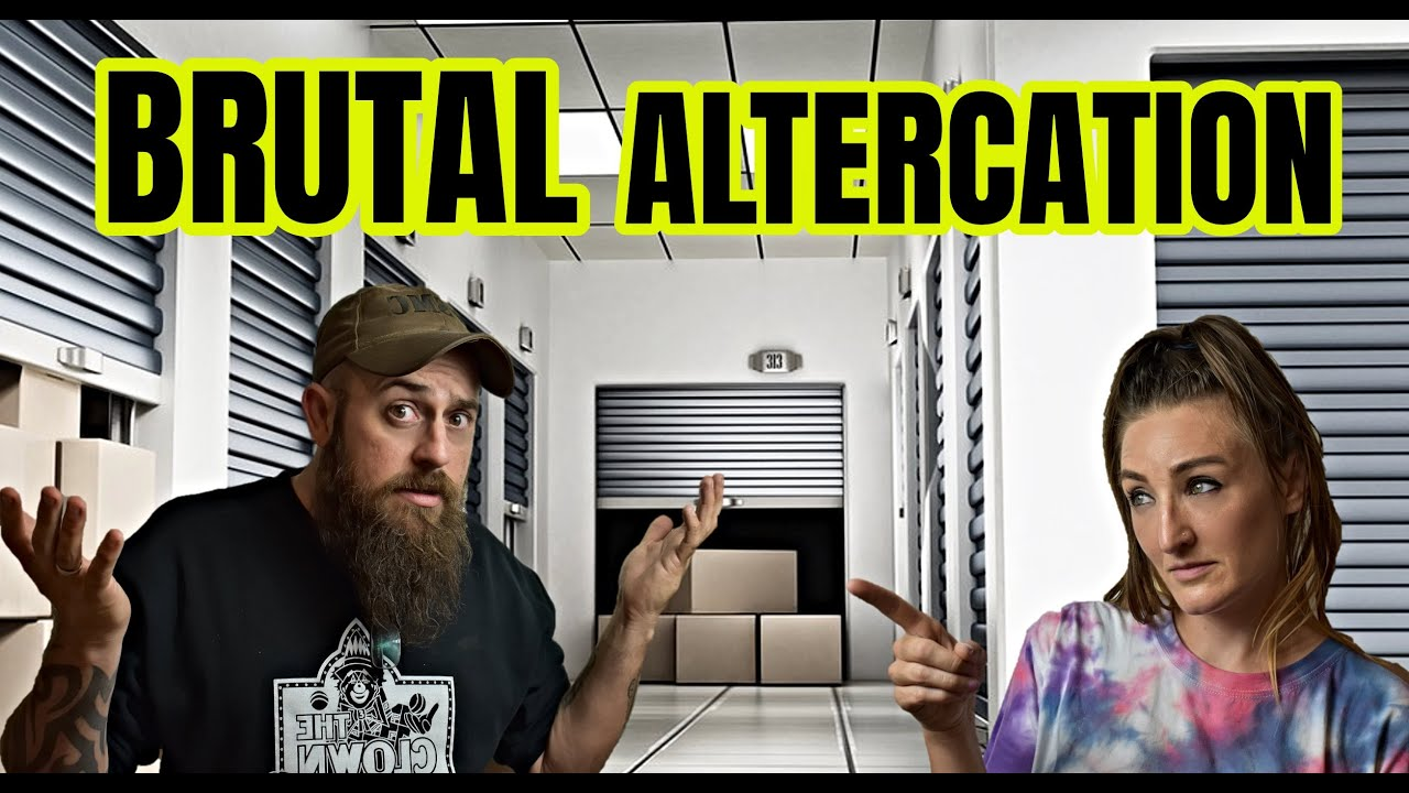 Brutal Altercation Between Married Couple Who Buy Abandoned Storage Units!
