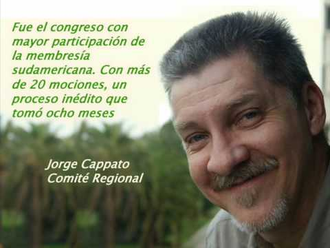 Sudamérica en el Congreso Mundial de Barcelona