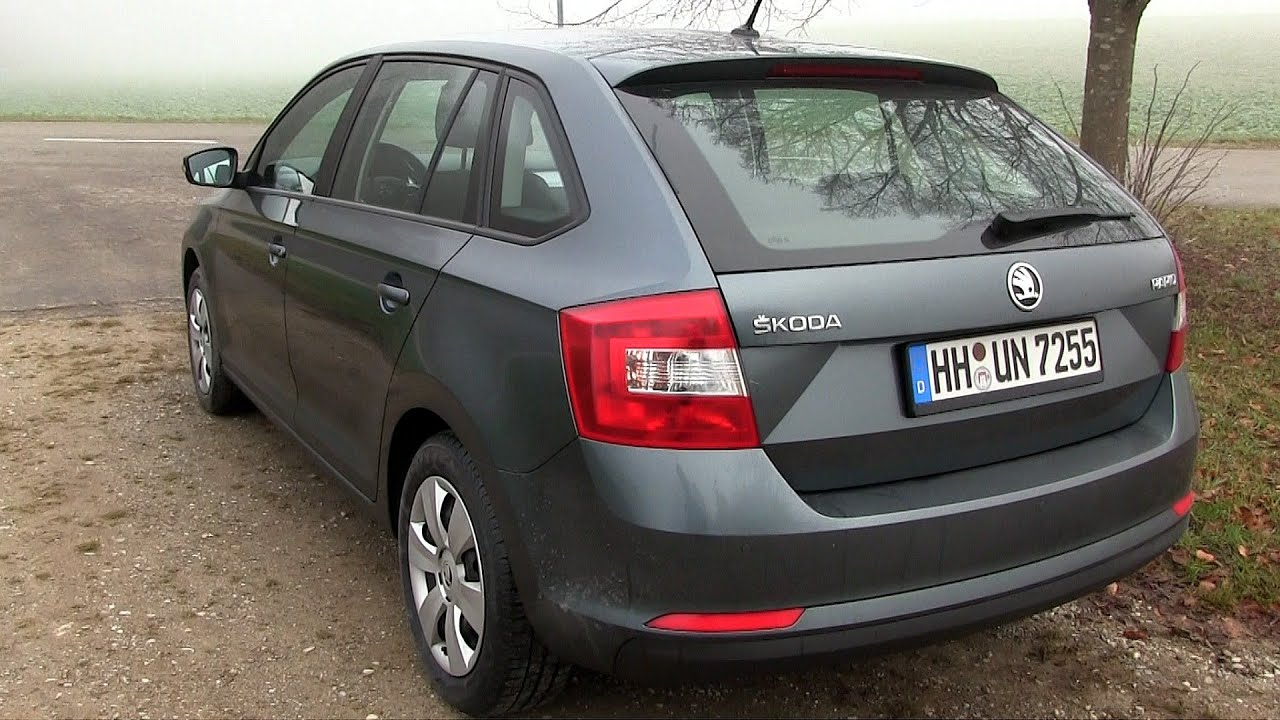 2015 skoda rapid 1 2 tsi 90 hp test drive youtube. Black Bedroom Furniture Sets. Home Design Ideas