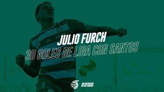 Julio Furch - 30 Goles de Liga con Club Santos