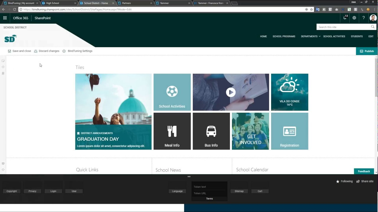 Create a modern workplace with the new Modern (SPFx) Themes