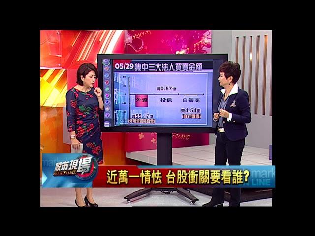 股市現場*鄭明娟【台股衝關要看誰?】20180529-1(李蜀芳×蔡明翰)
