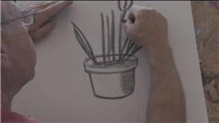 Drawing Basics : How to Draw Potted Plants