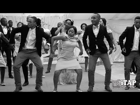 Best African Music Bridal team dances