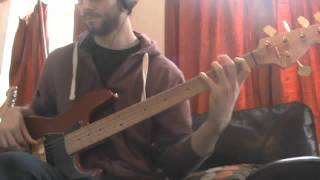 Uptight  Everything's Alright  - Stevie Wonder Bass Cover