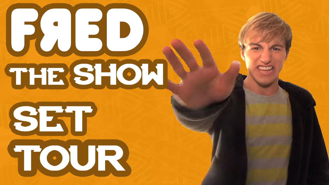 fred the show set tour youtube. Black Bedroom Furniture Sets. Home Design Ideas
