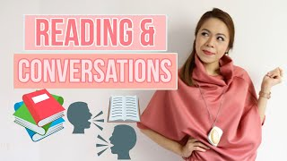 Level-Up Your Communication Game Through Reading and Conversation!   INGRID NIETO Vlogs