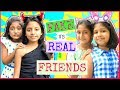 FAKE vs REAL Friends ...  #FriendshipDaySpecial #Fun #Sketch #RolePlay #MyMissAnand