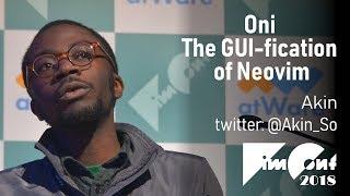 [En] Oni - The GUI-fication of Neovim