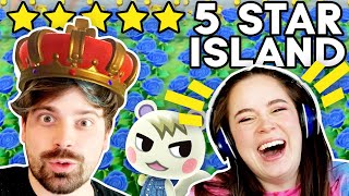 We Roast Damien's 5 Star Animal Crossing Island