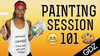 Painting Session 101 w/ GotDamnZo