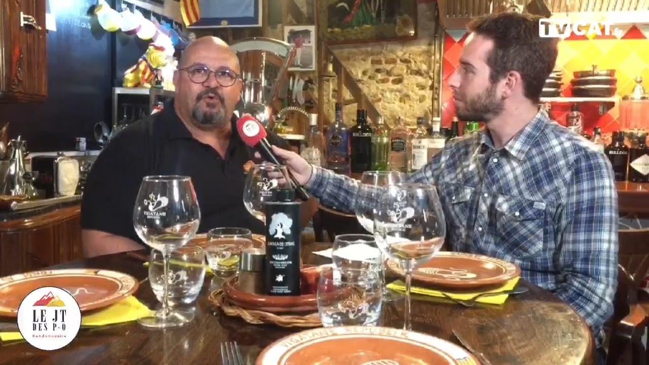✅#36 JT des PO au restaurant Vigatane à Canet - TVCAT