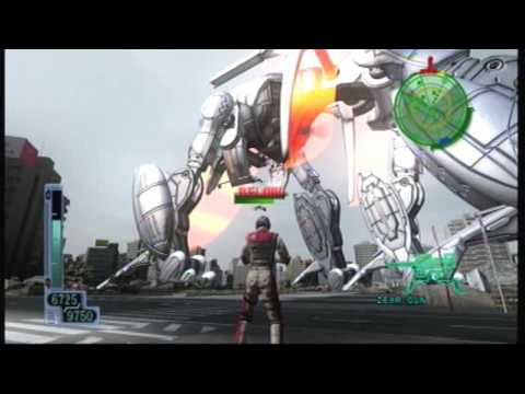 Earth Defense Force 2017 Mission 34 Inferno Difficulty Part 1/2