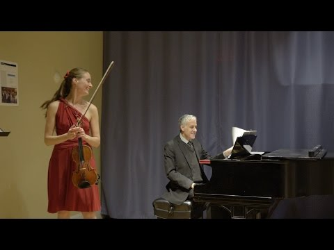 Live: Prokofiev ~ March from Love for Three Oranges ~ Claudia Schaer & Eduard Laurel