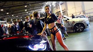 Горячая девушка танцует на Авто Тюнинг Шоу 2017(, 2017-05-29T21:28:11.000Z)