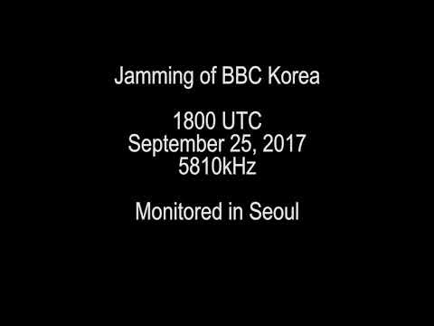 Jamming of BBC Korea